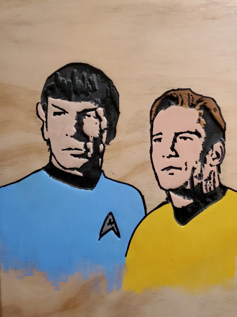 Spock and Curk